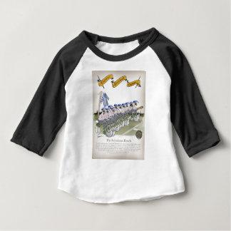 soccer football subs blue white stripes baby T-Shirt