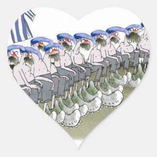 soccer football subs blue white stripes heart sticker
