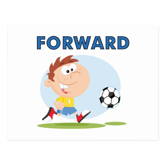 Soccer Forward T-shirts and Gifts Postcard