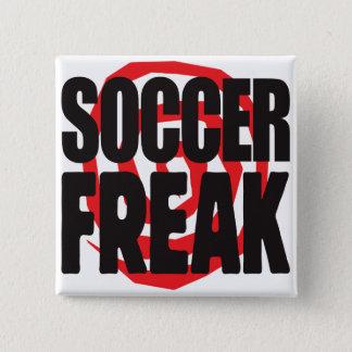 Soccer Freak 2 Inch Square Button