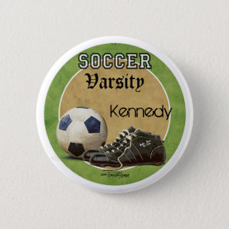 Soccer Game 2 Inch Round Button