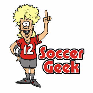 soccer geek girl photo cut outs