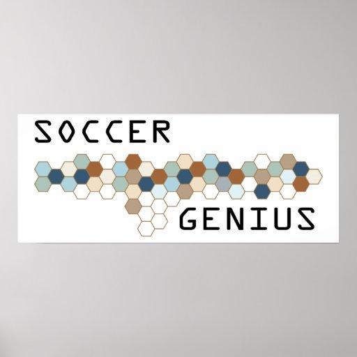 Soccer Genius Poster