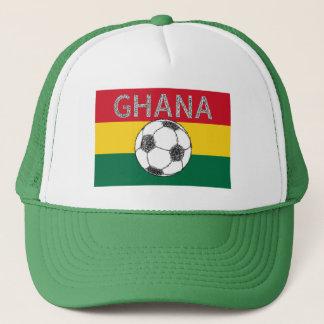 Soccer, Ghana Trucker Hat