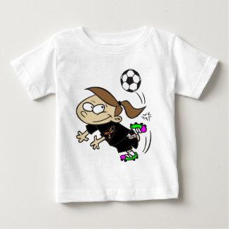 SOCCER GIRL AUTISM RIBBON BABY T-Shirt