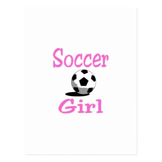 Soccer Girl Postcard