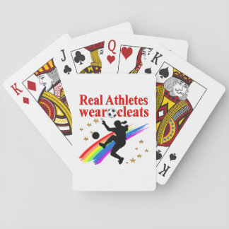 SOCCER GIRLS ARE THE BEST ATHLETES POKER DECK