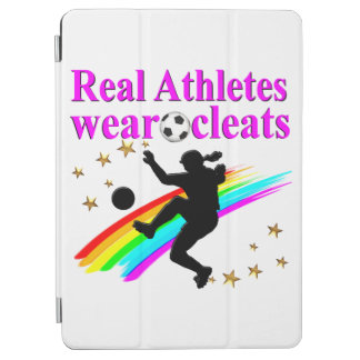 SOCCER GIRLS RULE THE WORLD iPad AIR COVER