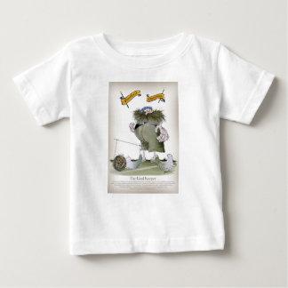 soccer goal keeper 'blue white stripes' baby T-Shirt