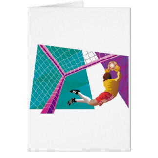 Soccer Goalkeeper Card