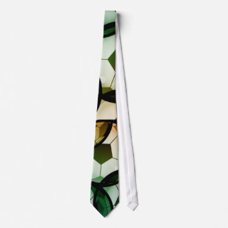 Soccer Graphic Abstract Tie
