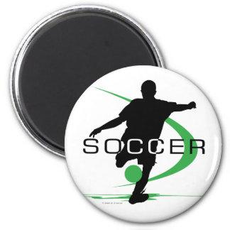 Soccer - Green - Boys Magnet