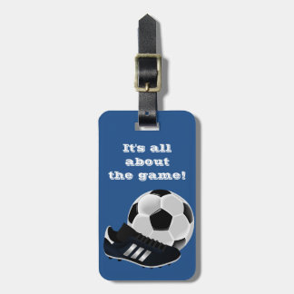 Soccer Gym Bag ID - Luggage Tag
