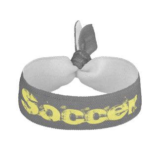 soccer hair ornament hair tie