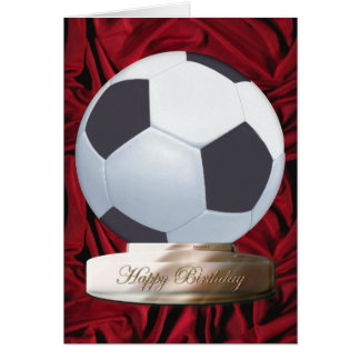 Soccer Happy Birthday Card