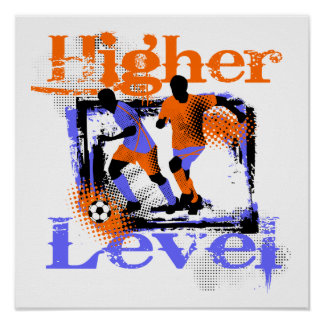 Soccer Higher Level Tshirts and Gifts Print