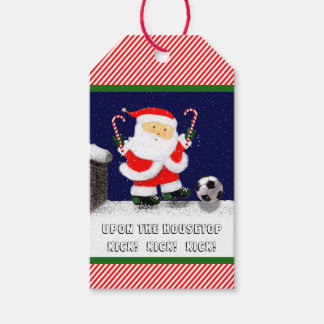 Soccer Holidays Pack Of Gift Tags