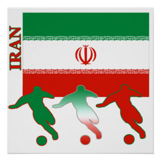 Soccer Iran Poster