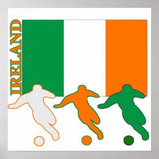 Soccer Ireland Poster