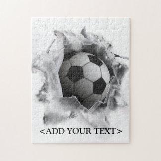 Soccer Kick Jigsaw Puzzle