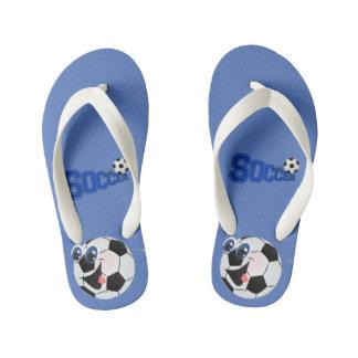 Soccer -  Kid's Flip Flops