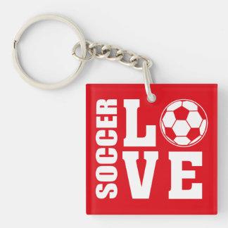 Soccer Love Keychain