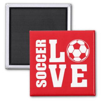 Soccer Love Magnet