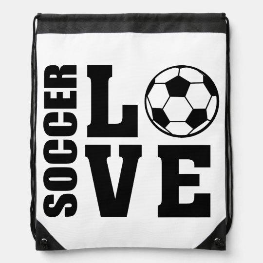 Soccer Love, Soccer Bag Backpack