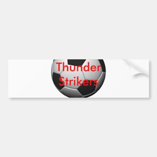 Soccer Merchandise Bumper Sticker