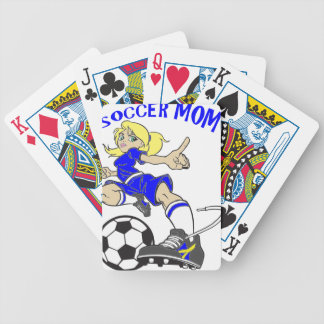 SOCCER MOM BICYCLE PLAYING CARDS