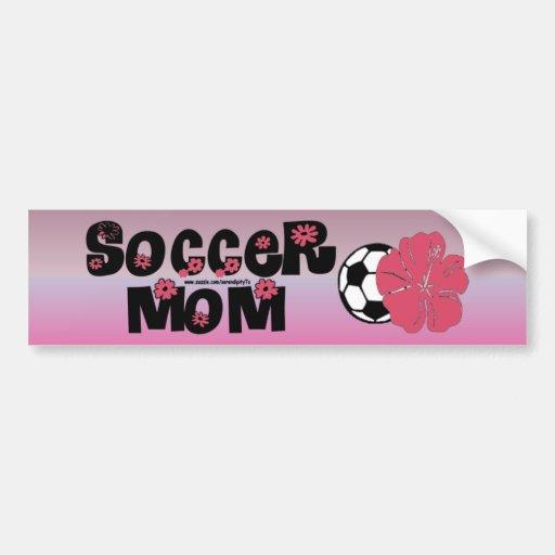 Soccer Mom Bumper Stickers