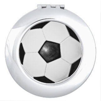 Soccer Mom Gift Ideas Compact Mirror