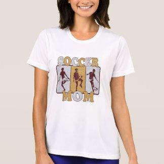 Soccer Mom Glitter Effect T Shirts