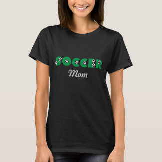 Soccer Mom in Green T-Shirt