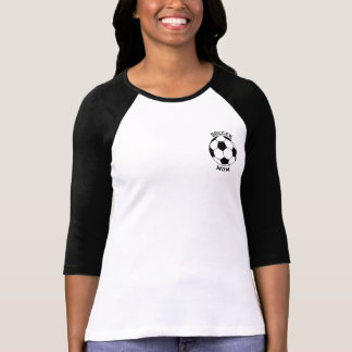 Soccer Mom - My Son Is a Keeper Raglan Shirt