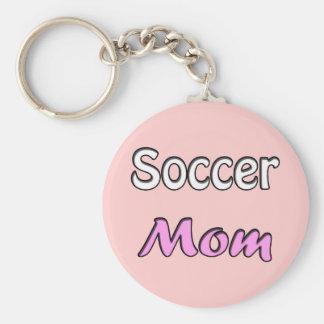 Soccer Mom Porte-clé Rond