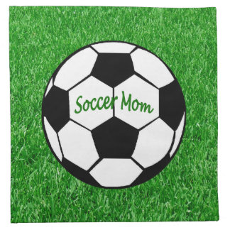 Soccer Mom Printed Napkin