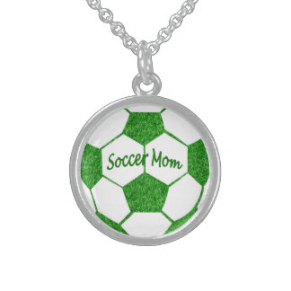 Soccer Mom Sterling Silver Necklace