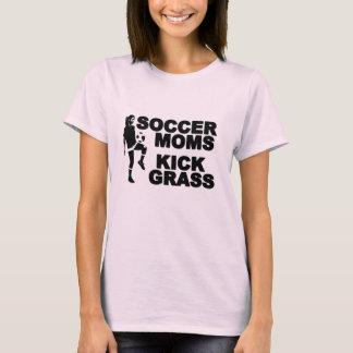 Soccer Moms Kick Grass T-Shirt