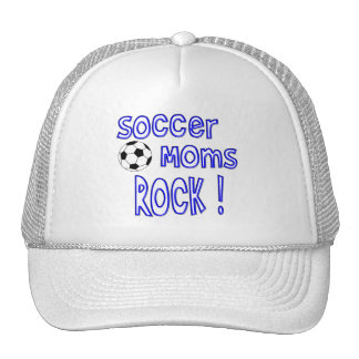 Soccer Moms Rock ! (blue) Trucker Hat