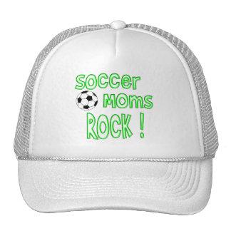 Soccer Moms Rock ! (green) Trucker Hat