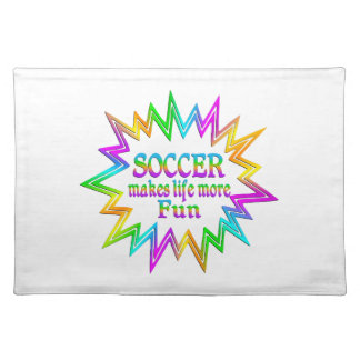 Soccer More Fun Placemat
