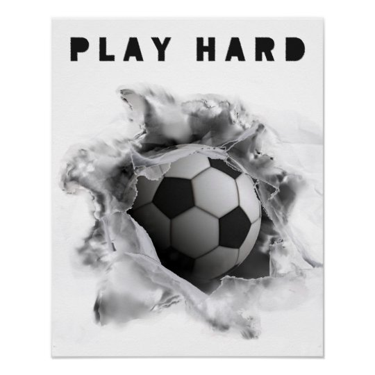 soccer motivation poster