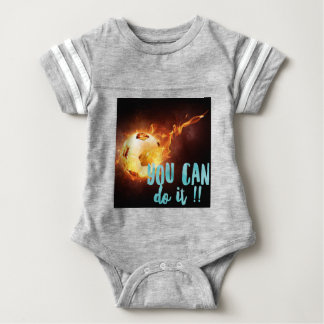 Soccer Motivational Inspirational Success Baby Bodysuit