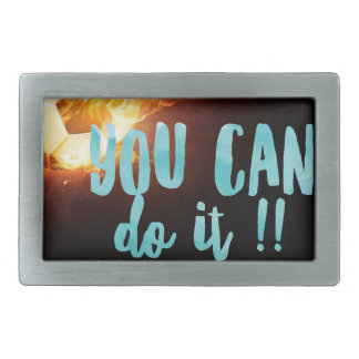 Soccer Motivational Inspirational Success Belt Buckle