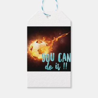 Soccer Motivational Inspirational Success Gift Tags