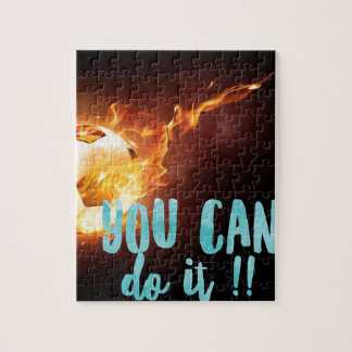 Soccer Motivational Inspirational Success Puzzles