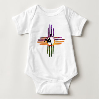 Soccer New Mexico Baby Bodysuit
