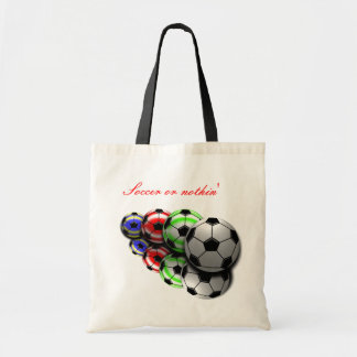 Soccer or nothin' Bag