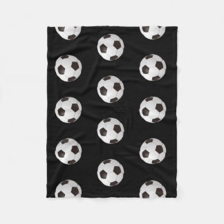 Soccer Pattern | Sport Gifts Fleece Blanket